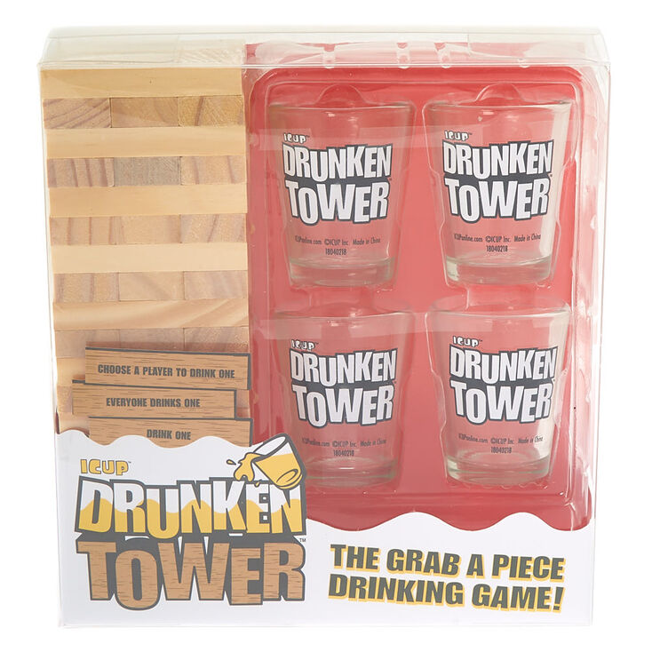 Drunken Tower - The Grab A Piece Adult Drinking Game,