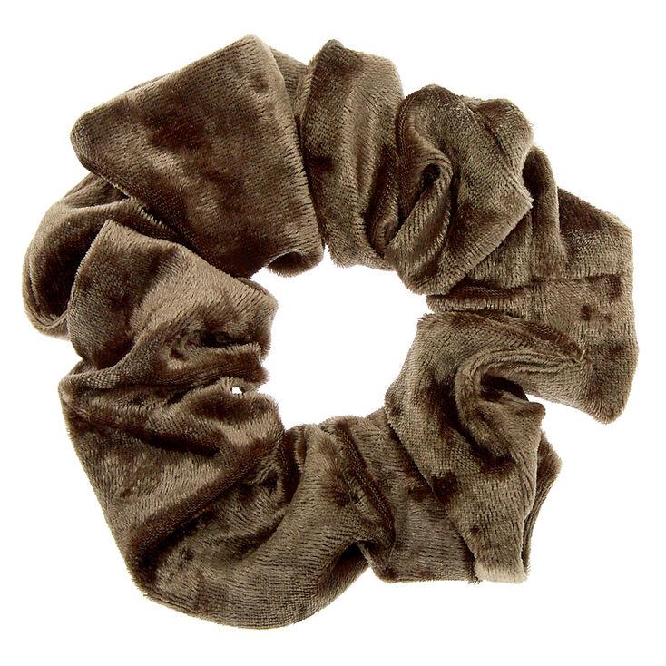 Velvet Hair Scrunchie - Sage,