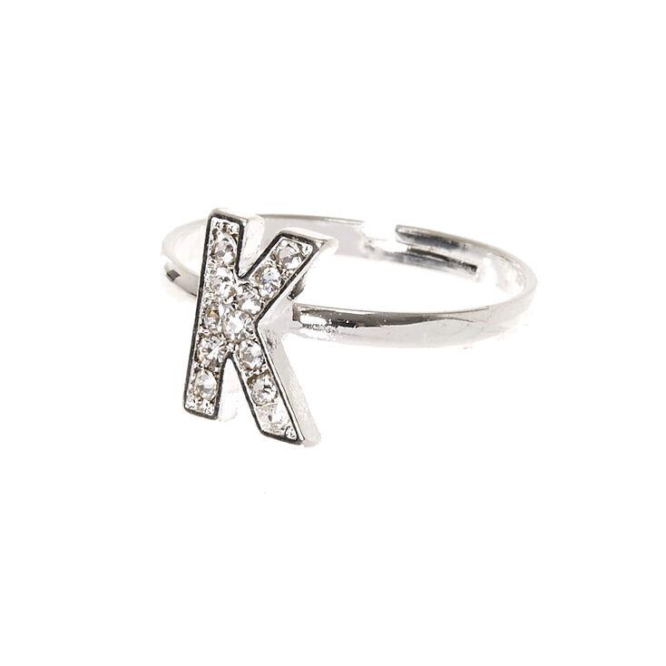 K Initial Adjustable Ring,