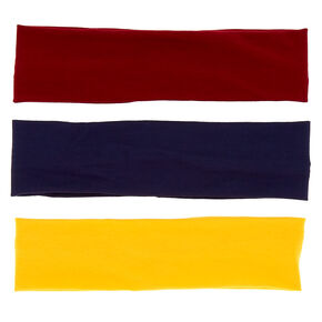 School Colors Wide Headwraps - 3 Pack,