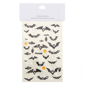 Bat Glitter Body Stickers,