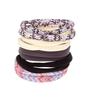 Southwestern Rolled Hair Ties,