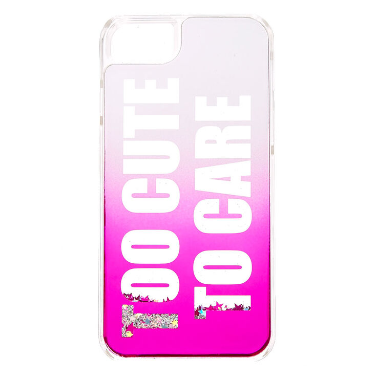 Too Cute To Care Phone Case - Fits iPhone 6/7/8/SE,