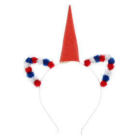 USA Pom Unicorn Headband,