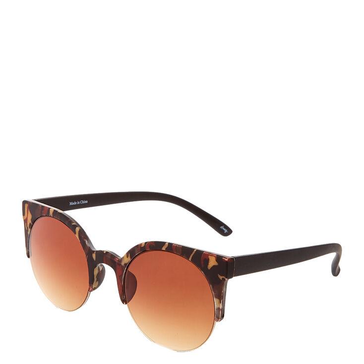 Round Camo Sunglasses,