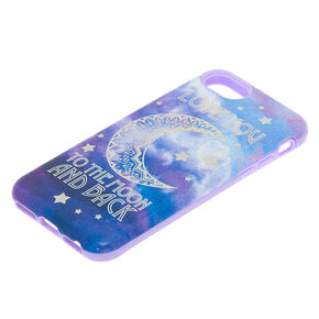 Love You to the Moon & Back Protective Phone Case - Fits iPhone 6/7/8,