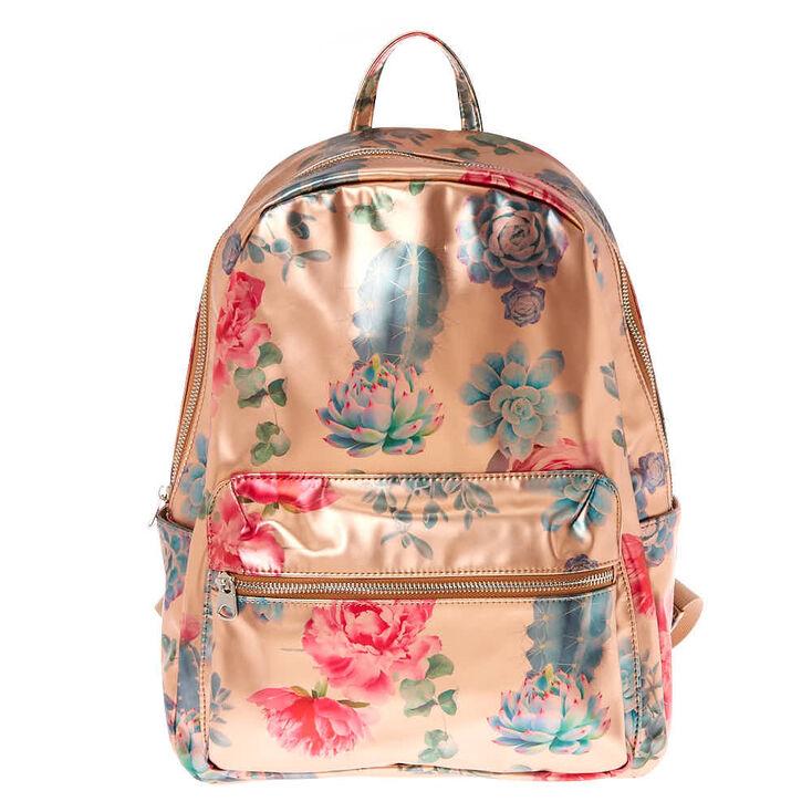 Desert Rose Backpack - Rose Gold,