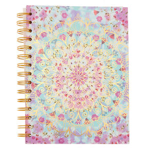 Floral Mandala Mini Notebook,