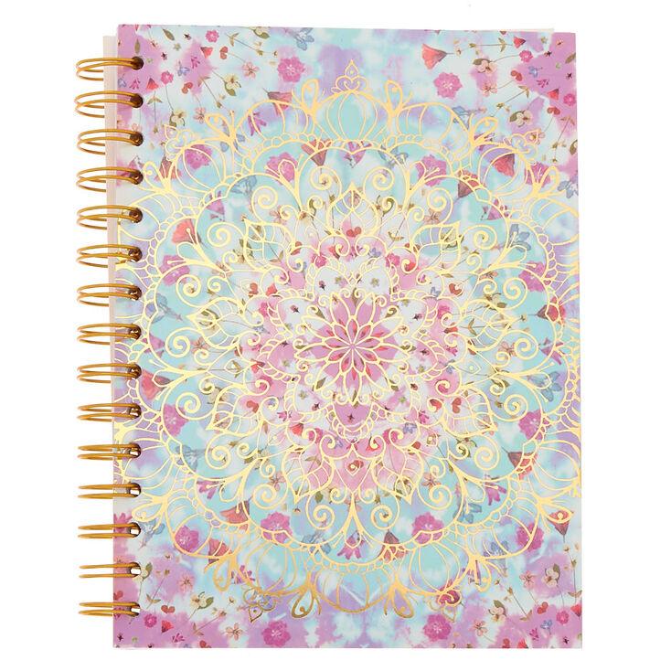 Floral Mandala Mini Notebook,