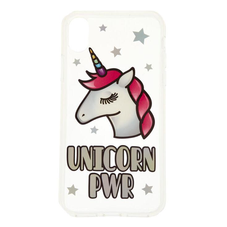 Unicorn PWR Phone Case Fits iPhone X/XS,