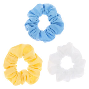 Pastel Summer Hair Scrunchies - 3 Pack,