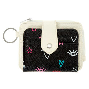 Black & White Icon Coin Purse,