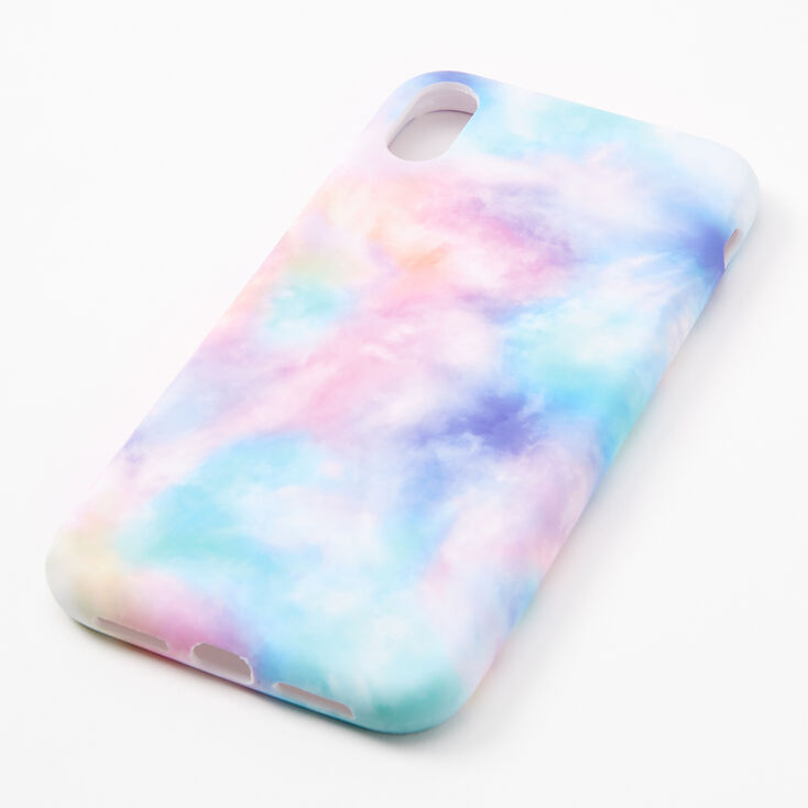 Pastel Tie Dye Protective Phone Case - Fits iPhone XR,