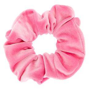 Velvet Hair Scrunchie - Pink,