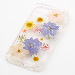 Clear Pressed Flower Phone Case - Fits iPhone 6/7/8/SE,
