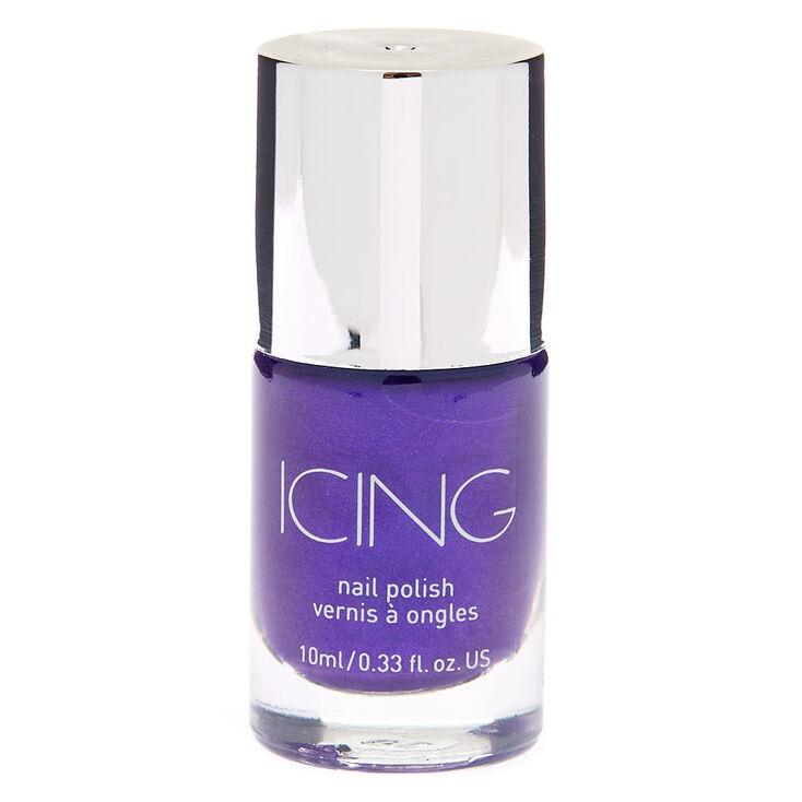 Shimmer Nail Polish - Purple,