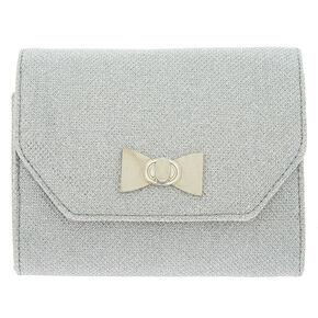 Envelope Clutch Purse - Silver,