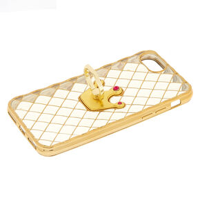 Crown Ring Stand Phone Case,