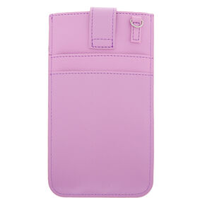 Crossbody Phone Pouch - Lilac,