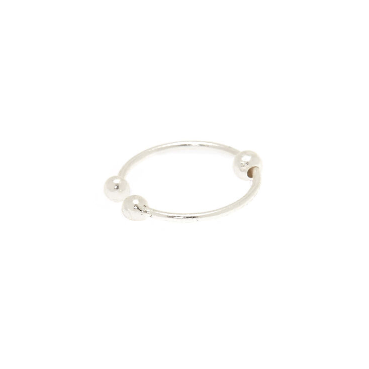 Sterling Silver Faux Nose Ring,