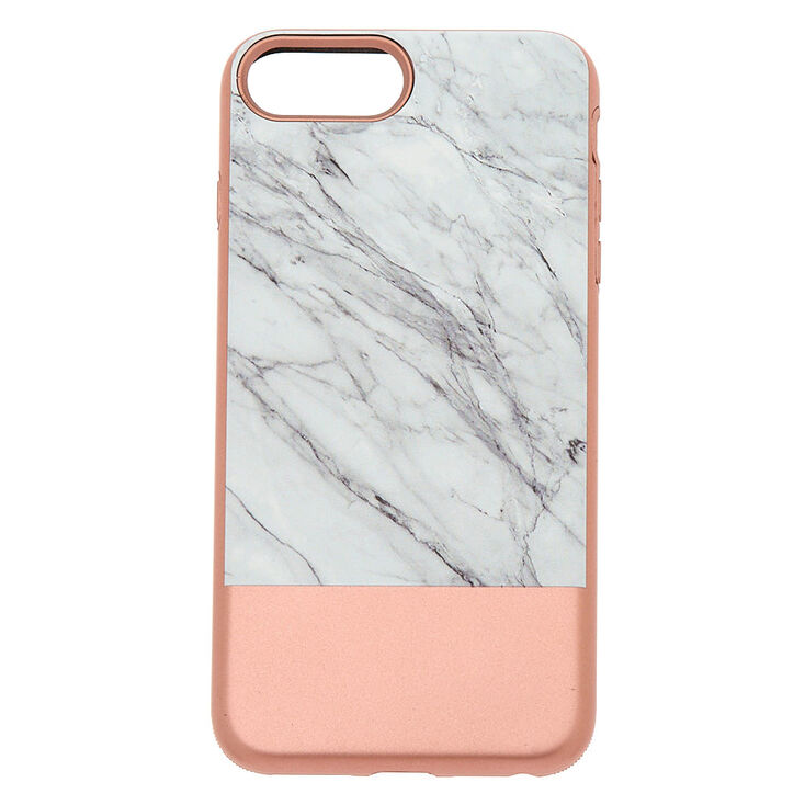Rose Gold and Marble Protective Phone Case,