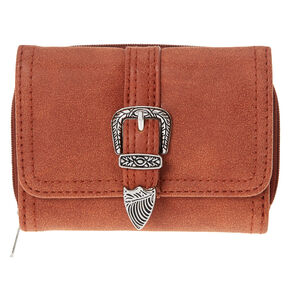 Brown Mini Tri Western Purse,