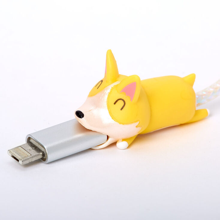 Corgi Cable Critter - Yellow,