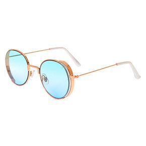 Round Ombre Sunglasses - Blue,