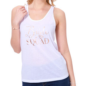 Bride Squad Tank Top - White,