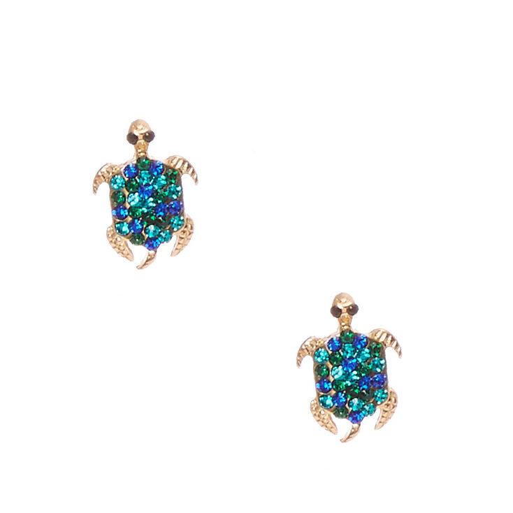 cubic gemstone earrings blue white zirconia p sterling with sapphire silver plated gold amp
