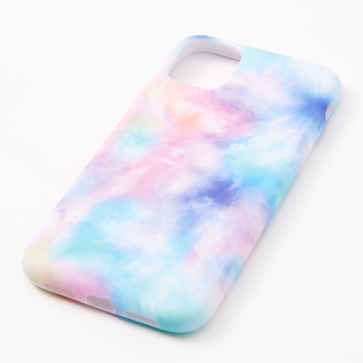 Pastel Tie Dye Protective Phone Case - Fits iPhone 11,