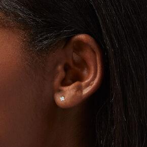 Silver 2 Filigree Clip On Drop Earrings