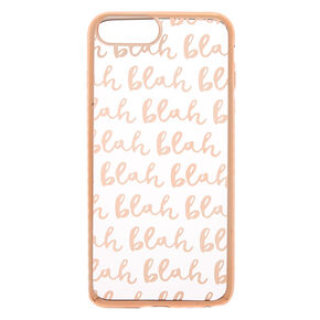 Blah Blah Blah Phone Case - Fits iPhone 6/7/8 Plus,