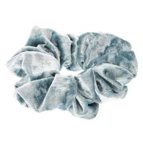 Velvet Look Mint Hair Scrunchie,