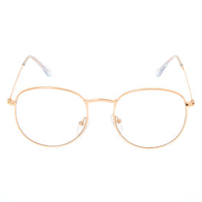 Rose Gold Retro Frames,