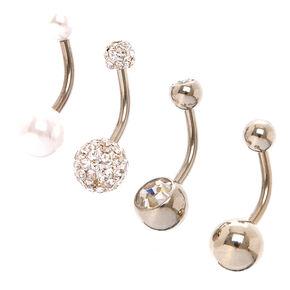 Glitter Stone Marquis Flower Drop Earrings,