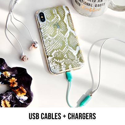 USB CABLE CABLES + CHARGERS