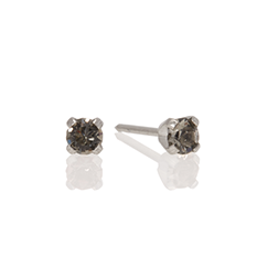traditional stainless steel stud earrings