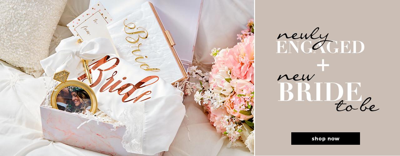 CELEBRATING THE BRIDES ENGAGEMENT/GIFFTING