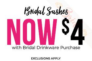 Bridal Drinkware
