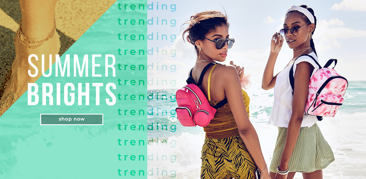 TRENDING NOW: SUMMER BRIGHTS
