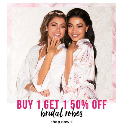 b1g1 bridal robes