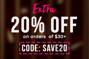 EXTRA 20% Off on orders  of $30+ CODE: SAVE20