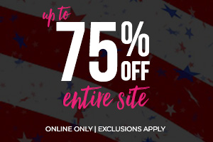 Up to 75% Off Entire Site !*