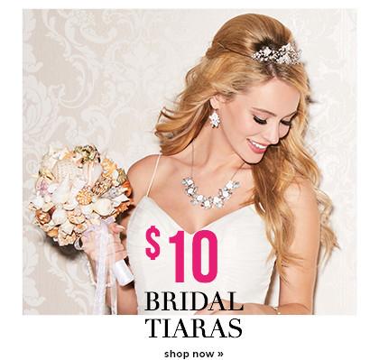 Shop $10 Bridal Tiaras