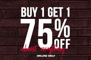 Buy1 Get1 75%