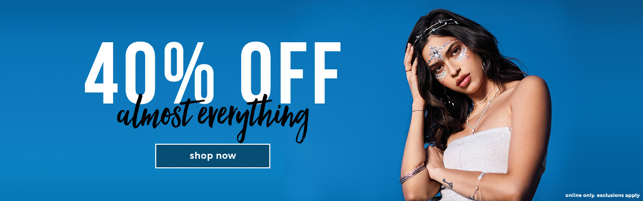 40% off almost everything *