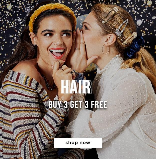 Buy 3 Get 3 Free Hair*