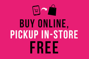 #1 FREE! Pick Up In-Store on Purchases $5