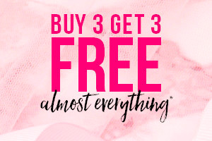 Buy 3 Get 3 Free Almost Everything!